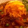 半熟卵のハヤシライス