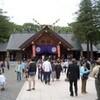 北海道神宮例祭に参列