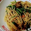 余り物スパゲッティ / 春菊と舞茸のスパゲッティ