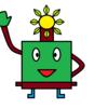 いけ花のブログイメージキャラクターを作って見た。