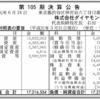 株式会社ダイヤモンド社 第105期決算公告