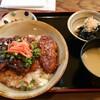 代田橋【てぃんさぐぬ花】とろとろソーキ丼セット ¥800