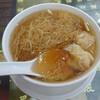 帰国日ラストミニッツのワンタン麺&点心モーニング。「何洪記粥麺専家」@香港国際空港