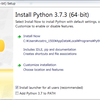 Python3をWindows(64bit)にインストールをする