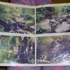 るり渓と暗峠の古写真が汚いw