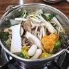 【合井】きのこ料理専門店でヘルシーきのこしゃぶしゃぶ@버섯마루/ポソッマル