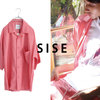 SISE - OPEN COLLAR SHIRT -