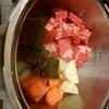 象印圧力IH鍋 カレーを作ってみました