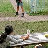 【授業実践】横浜国立大学教育学部附属鎌倉小学校:図画工作(立体作品と一緒に遠近法で撮影 by デジタルカメラを活用)