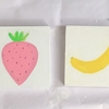 苺とバナナ。