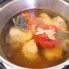 北海道士別産の野菜でスープカレー!