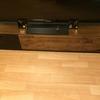 テレビボード内の収納