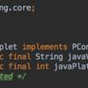 PAppletはインターフェイスPConstantsの実装である