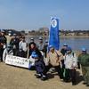 隊友会活動(28) 市民ボランティアの佐鳴湖クリ-ン作戦参加