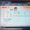 289.オリジナル選手 樽水有一選手 (パワプロ2018)