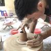 10月29日 ベトナムの伝統的な村バッチャンで初めての焼き物作り体験!!