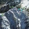 Google Earthで日本百名山ダイジェスト / 水晶岳 / 黒部五郎岳 / 薬師岳 / 劔岳 / 立山
