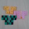 折り紙【鬼滅の刃】炭治郎・禰豆子・善逸風の羽織を全集中で折ってみた!簡単とても可愛いです