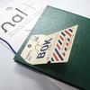 アイレット付シール「halt(ハルト)」は「測量野帳」の簡単カスタマイズに最適
