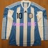 2010アルゼンチン代表 リオネル・メッシ選手支給品