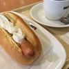 朝カフェ・セットC ジャーマンドック、4種のチーズソーストッピング@ドトールコーヒーショップ 札幌元町店
