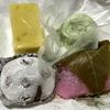 三ツ沢中町の「松月堂」で和菓子4種
