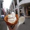 秋津散歩。とんかつとアイスクリーム、そして燕