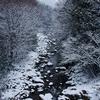 市街地から10km西に進むと、雪国だった。