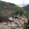 芦屋地獄谷から細井道へのハイキング(その2)細井道から中央稜を下る