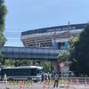20210724の横浜スタジアム前