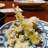 糸魚川駅前「居酒屋やまね」で幻魚&春野菜の天ぷらと、アンコウの唐揚げをいただきました( ^∀^)