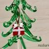 お守り袋の白いダルマ・プチサイズのクリスマスオーナメント