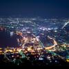 函館夜景をTAMRON SP 24-70 f2.8 Di VC USDで撮影したよ