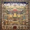 お彼岸中は、「当麻曼荼羅」の御開帳をいたします。美しい極楽の様子を描いた曼荼羅です。ぜひご縁を結んで下さい。