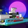 レゴ:ジオラマ・未来都市の作り方 LEGOクラシック10696だけで作ったよ(オリジナル)