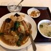 浅間町の「小林家」で豚角煮中華丼