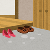 【ミニマリストに憧れる】油断すると玄関がひどいことになる【古い家】