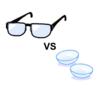 コンタクトとメガネを比べたらメガネが多方面で圧勝だった話