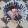 【0円工作】牛乳パックで超簡単!長くつなげるだけのジャバラは遊び方いろいろ。「基地」にも「宝探し」にも。