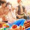 【BL小説イラスト】人魚とピクニック
