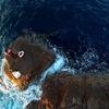 40オーバーのグレを狙え!串本須江の沖磯丸島で寒グレ攻略(動画もあるよ)