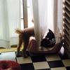 台風の日の我が家