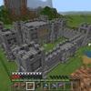 【マイクラ】要塞を壊して中世風の砦を作る方法!! #40
