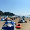 外浦海水浴場 砂浜も飛び込みも磯遊びも楽しめるバランスの良い浜