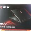 MSI GL62 6QC-041JPが届いた