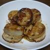 料理の練習 No.17  レンコンのはさみ揚げ (残りでハンバーグもどき)