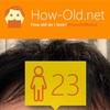 今日の顔年齢測定 94日目