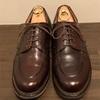 paraboot chambordのカフェはエイジングが楽しめる革靴