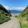 九十浜海水浴場 長~い坂を下っていく下田の穴場ビーチ