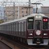 大阪メトロ66系の相互直通50周年ヘッドマークを撮る。